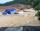 Mưa lớn, công trình thủy lợi vỡ đê quai
