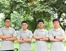 4 chàng trai Olympic quốc tế cùng nhập học vào ĐH Bách khoa Hà Nội
