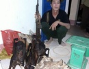 Ngang nhiên vác súng AK vào rừng di sản bắn động vật quý hiếm