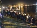 Xe máy lao xuống hồ Xuân Hương, 1 người tử vong
