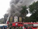 Cháy lớn tại quán karaoke gần khu đô thị Linh Đàm