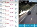 """Camera """"tố"""" hàng chục xe biển xanh vi phạm giao thông trên quốc lộ 1A"""
