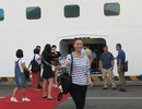 Khách du lịch tàu biển tấp nập đến Đà Nẵng