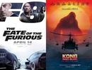 """Không gì cản bước """"Fast & Furious 8""""; """"Kong"""" cán đích lý tưởng"""