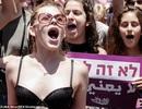 Biểu tình ngực trần phản đối cưỡng dâm ở Israel