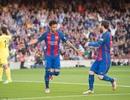 Barcelona 4-1 Villarreal: Messi, Neymar, Suarez cùng ghi bàn