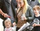 Christina Aguilera và hình ảnh hiếm hoi bên 2 con