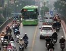 Toàn cảnh di chuyển của buýt nhanh Hà Nội nhìn từ trên cao