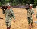 Hàng trăm bộ đội, dân quân đội mưa rét chuyển nhà cho người dân vùng sạt lở