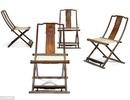 Bộ ghế gấp làm từ gỗ sưa có giá… 160 tỷ đồng
