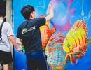 Quảng Nam: Bất ngờ trước vẻ đẹp rực rỡ của làng bích họa tại Tam Hải
