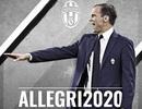 """HLV Allegri chính thức nhận """"phần thưởng"""" từ Juventus"""