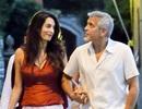 """""""Gã đầu bạc"""" George Clooney không rời mắt khỏi """"bà xã"""""""