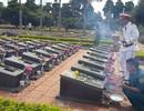 An táng 29 liệt sĩ quân tình nguyện Việt Nam hy sinh tại Campuchia
