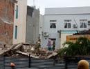 Sập công trình đang tháo dỡ, 2 người tử vong