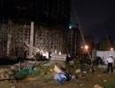 Sập công trình khách sạn tại Đà Nẵng, 4 người bị thương