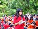 Học sinh Hà Nội về tận quê nhà thơ Nguyễn Khuyến để học văn