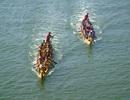 Lễ hội đua thuyền rộn ràng trên Sông Nhật Lệ