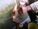 Giếng nước 10 năm liên tục phát lửa