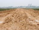 Khốn khổ với con đường lầy lội hơn... ruộng