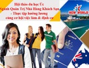 Hội thảo du học Úc: Ngành Quản trị nhà hàng khách sạn – Thực tập hưởng lương, cơ hội việc làm và định cư