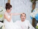 """Thu Trang – Tiến Luật hài hước trong bộ ảnh """"hấp hôn"""""""