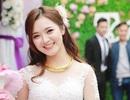 """""""Hot girl dân tộc"""" Thu Hương đẹp rạng ngời trong ngày cưới"""