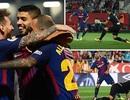 Luis Suarez tỏa sáng, Barcelona toàn thắng cả 6 trận ở La Liga