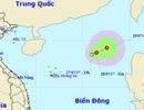 Áp thấp nhiệt đới trên Biển Đông có xu hướng mạnh lên