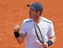 """Roland Garros: Hạ gục """"hiện tượng"""" Khachanov, Murray vào tứ kết"""
