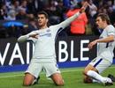 Morata tiếp đà thăng hoa, Chelsea hạ gục Leicester