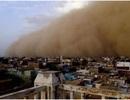 Cận cảnh trận bão cát kinh hoàng ở Sudan