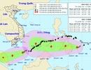 Bão số 15 vừa suy yếu, bão Tembin lại sầm sập hướng vào Biển Đông
