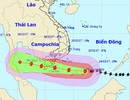 Bão số 16 đã đổ bộ vào Quần đảo Trường Sa với sức gió giật cấp 15