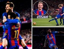 Barcelona 5-0 Celta Vigo: Messi lập cú đúp