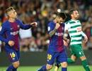 Messi ghi 4 bàn, Barcelona tiếp tục toàn thắng ở La Liga