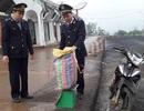 Đối tượng vận chuyển thuốc nổ bỏ xe và tang vật chạy trốn khi bị kiểm tra