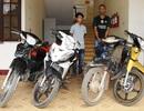 Nhóm đối tượng chuyên trộm, cướp xe máy dọc biên giới Việt Lào sa lưới