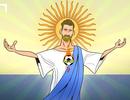 """Góc biếm họa: """"Thánh"""" Messi gánh cả đội tuyển Argentina"""