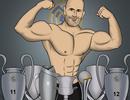 Góc biếm họa: Người khổng lồ Zidane