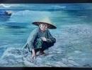 """Lùm xùm """"án kỷ luật"""" đối với tác giả bức tranh """"Biển chết"""" ở Trà Vinh"""