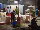 Triệt phá cơ sở bơm tạp chất vào 80kg tôm ở Hà Nội