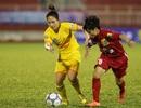 Hà Nam bất phân thắng bại với Hà Nội tại giải bóng đá nữ vô địch quốc gia 2017
