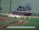 Phiến quân có cả xe tăng T-90 tấn công quân chính phủ Syria ở Hama