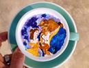 Ngỡ ngàng ngắm những kiệt tác nghệ thuật trên bề mặt tách cà phê