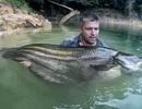 Truy lùng loài cá khổng lồ huyền thoại ở Malaysia