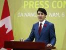 Thủ tướng Canada Justin Trudeau bất ngờ họp báo tại Đà Nẵng
