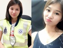 Nữ cảnh sát trẻ Malaysia xinh đẹp gây sốt cộng đồng mạng