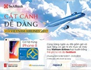 Giảm 15% vé máy bay và tặng Iphone 8 cho chủ thẻ SeABank