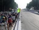Điều chỉnh giao thông để thi công cầu vượt giải cứu Tân Sơn Nhất